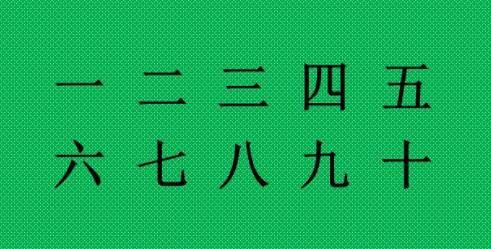 (65) Tellen in het Chinees