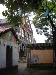 De kerk in Yanzhou