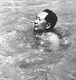 (165) Net zoals Mao zwemmen-2
