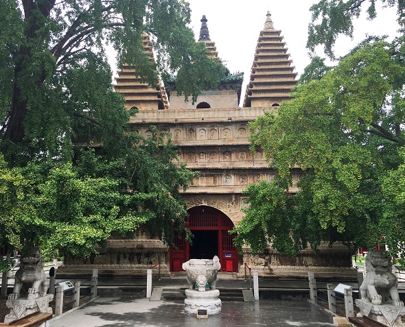 (222) Five Pagoda Temple-2